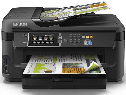 epson workforce wf 7610dwf multifunktionsger t drucken scannen kopieren und faxen schwarz 3. Black Bedroom Furniture Sets. Home Design Ideas